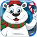 北极熊圣诞主题配对